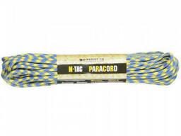 M-Tac паракорд 550 type III Yellow/Blue 30м