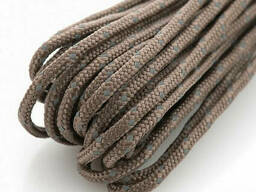 M-Tac паракорд Minicord Reflective Chocolate Brown 15 м