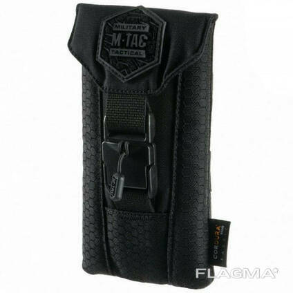 M-Tac подсумок для смартфона Elite Medium Hex черный