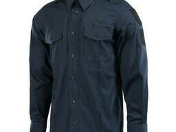 M-Tac рубашка Police Elite Flex рип-стоп синяя