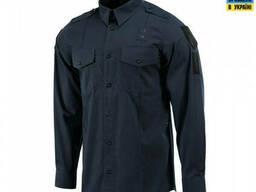 M-Tac рубашка Police Lightweight Flex с тефлоновой пропиткой рип-стоп dark navy blue