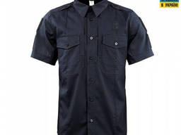 M-Tac Рубашка с коротким рукавом Police Flex рип-стоп черная