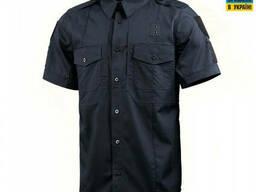 M-Tac рубашка с коротким рукавом Police Flex рип-стоп Dark Navy Blue