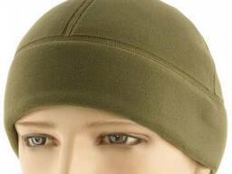 M-Tac шапка Watch Cap Premium (плоский шов) флис (343 г/м2) Army Olive