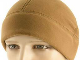 M-Tac шапка Watch Cap Premium (плоский шов) флис (343 г/м2) койот