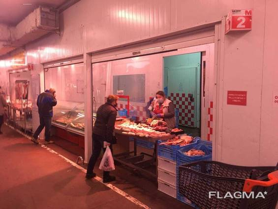 М'ясний магазин на ринку «Шувар»
