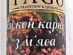 М'ясо індички з квасолею