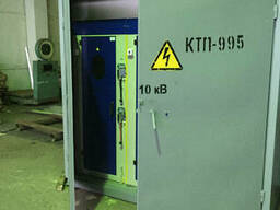 Мачтовая трансформаторная подстанция с воздушным вводом КТП М-1 250/10(6)/0, 4
