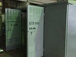 Мачтовая трансформаторная подстанция с воздушным вводом КТП М-1 63/10(6)/0, 4
