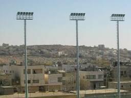 Мачты для освещения стадионов и спортивных объектов 14-45 м