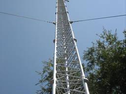 Мачты связи, мачты метеорологические, башни телекоммуникационные