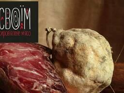 Мацик со свинины, сыровяленые мясные деликатесы