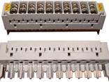 Магазин защиты для 10-ти парного плинта, с комплектом разрядников - фото 1