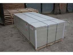 Магнезитовая плита для отделочных и монтажных работ.
