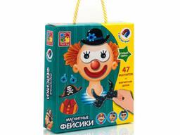 "Магнитная игра Vladi Toys ""Фэйсики"" (рус) (VT3702-09)"