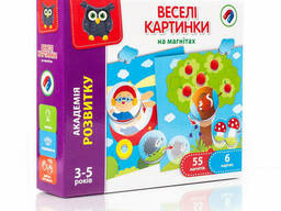 """Магнитная игра Vladi Toys """"Веселые картинки"""" (укр). .."""