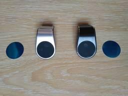 Магнитный держатель для телефона в авто на решетку дефлектора, воздуховода