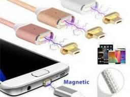 Магнитный кабель USB - micro USB для зарядки Android (андрои