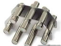 Магниты для улавливания металлических фракций в сыпучем мате
