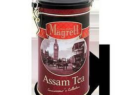 Magrett Черный чай Ассам (банка жесть, 200 гр)