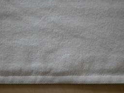 Полотенце белое лицевое