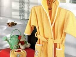Махровые детские халаты Турция