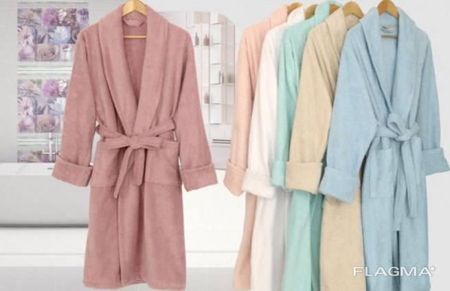 Махровые халаты Турция опт и розница