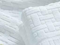 Махровые полотенца белые Турция