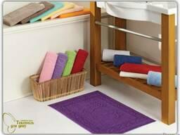 Цветные коврики для ног