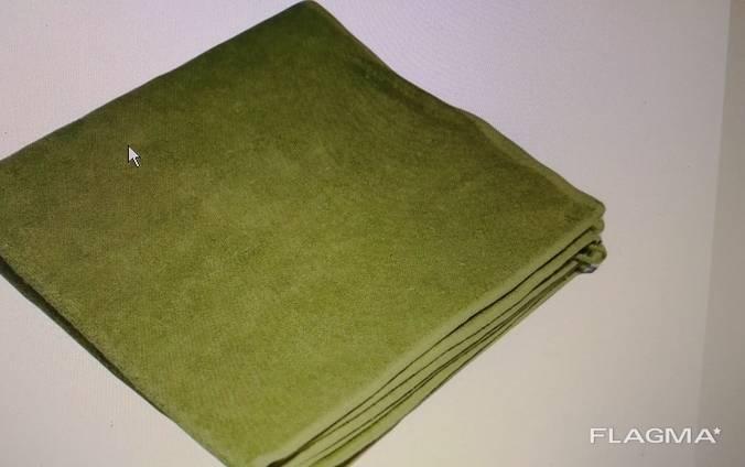 Махровые полотенца олива