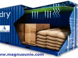 Максимальная защита груза от влаги в контейнере Vdry Blanket