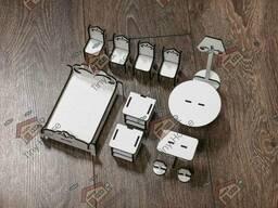 Маленький набор стандартной мебели для кукольного домика ЛОЛ DF001 TinyHouse