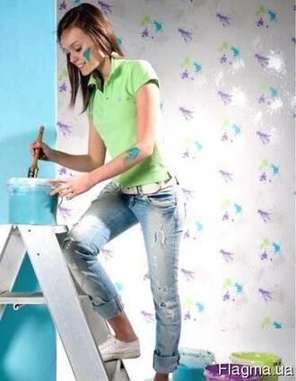 Малярные работы Поклейка обоев Покраска стен