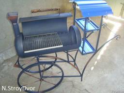 Мангал-барбекю (ковка паровоз) - фото 2