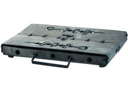 Мангал-чемодан DV - 6 шп. x 1, 5 мм (холоднокатанный) (Х005)