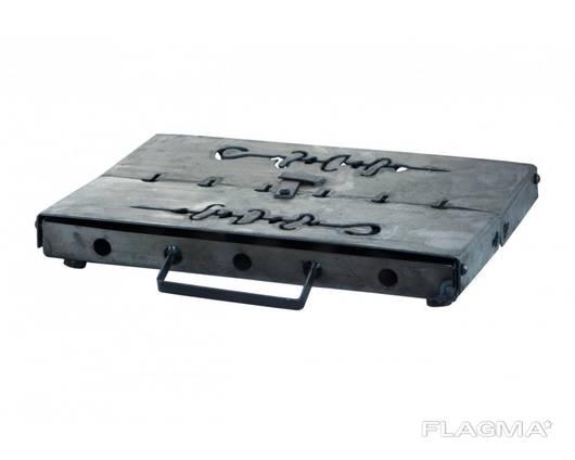 Мангал-чемодан на - 12 шп. х 1,5мм (горячекатаный)