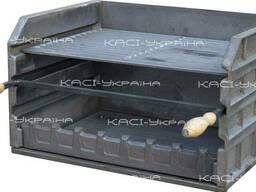Мангал-гриль (барбекю комплекс) чавунний №8, KU-0098