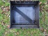 Мангал, раскладной, мангал чемодан, на 6 шампуров - фото 2