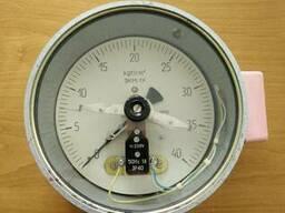 Манометр электроконтактный ЭКМ1У (0-40кг)