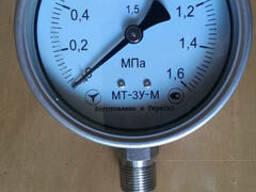 Манометр МТ-3У-М 0…1,6 Мпа. Н/Ж