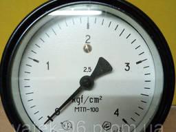 Манометр МТП 100 0 - 4 кг/см2 СССР