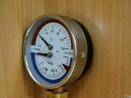Манометр с термометром ДМТ