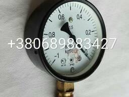 Манометр (вакууметр) ВП-3У, МТП-100, ОБМ1-100, МП3У