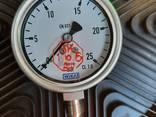 Манометры 6кг/25кг глицерин - фото 2
