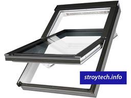 Мансардное окно FAKRO среднеповоротное металлопластиковое