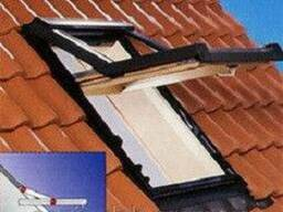 Мансардное окно Roto 735K со шторкой 114x140 см