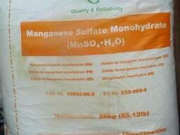 Марганец сульфат, Индия, Китай, фасовка мешок 25кг