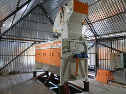 Машина для очистки зерна ЛУЧ ЗСО 75, Сепаратор зерна
