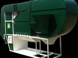 Машина очистки и калибровки зерна, 1-200 тонн в час.