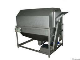 Машина для шлифовки семечек и удаления мусора и примесей